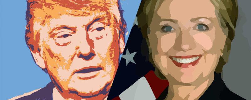 ڈانلڈ ٹرمپ اور ہلاری کلنٹن کے مابین تقریری مقابلہ 2