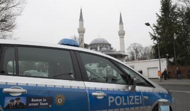جرمنی میں دو مساجد پر شرپسندوں کے حملے 1
