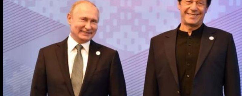Imran Khan and Putin