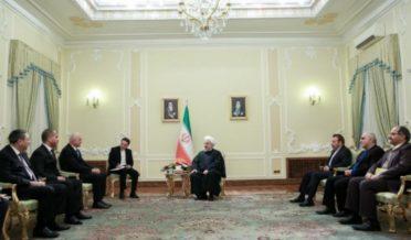 عمان کے وزیرخارجہ کی صدرحسن روحانی سے ملاقات، دوطرفہ تعلقات پرتبادلہ خیال 9