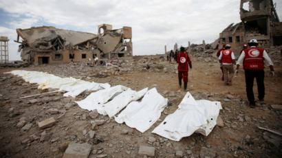 یمن:فوجی اڈے پرحوثی جنگجوؤں کے میزائل حملے,60 فوجی ہلاک