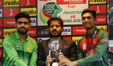 پاکستان اور بنگلہ دیش کےمابین پہلا ٹی ٹوئنٹی میچ آج کھیلا جائے گا