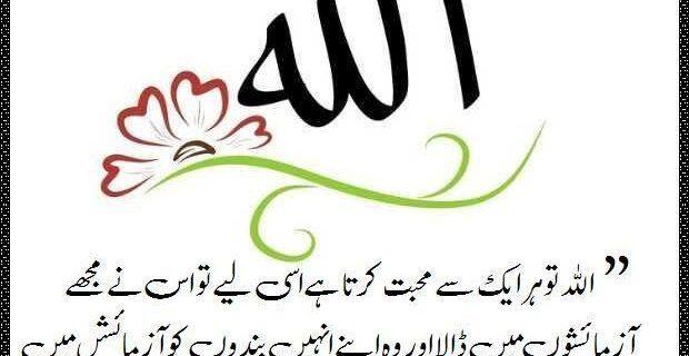 اللہ کی محبت