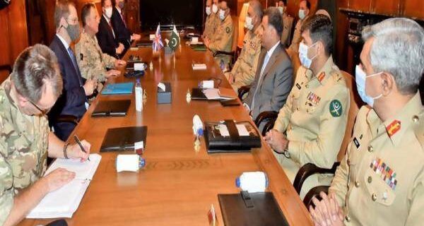 Army Chief of British metting with Pakistnai amry Chief