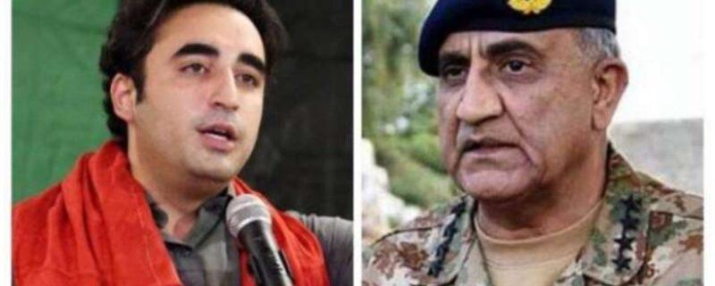 Bilawal taking behavior and Army Chief Call