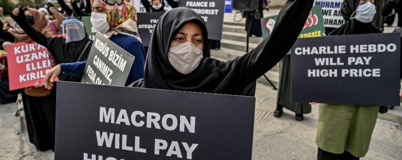Muslim voices againt France