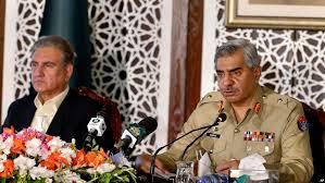 شاہ محمود قریشی و جنرل بابر افتخار پریس کانفرنس