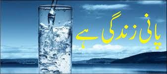پانی زندگی ہے
