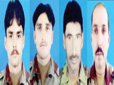 بلوچستان: بارودی سرنگ دھماکہ میں 4 ایف سی اہلکار شہید